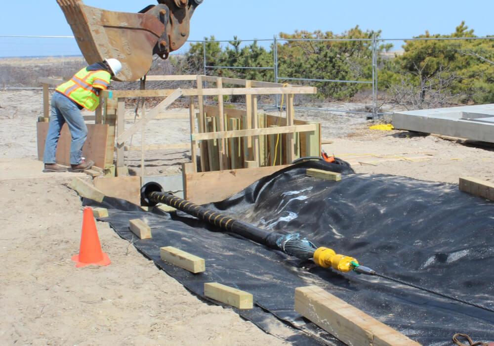 Caldwell Marine International Martha's Vineyard Cable Laying Project